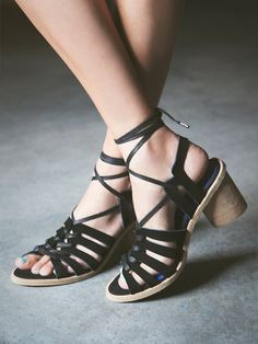 Jeffrey Campbell + Free People Lock and Key Heel at Free People Clothing Boutique 188.00