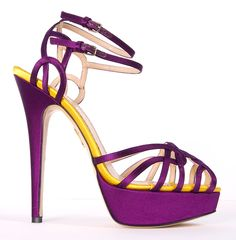 CHARLOTTE OLYMPIA HEELS @Michelle Coleman-HERS $550