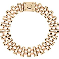 MICHAEL MICHAEL KORS Watch-link necklace (Gold
