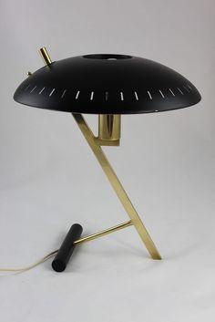 Luxury Original Philips Tischlampe Z Lampe Christiaan Louis Kalff