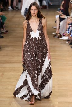 Chloé Spring 2015 Ready-to-Wear Fashion Show - Olivia David (Elite)