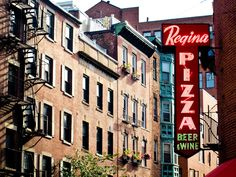 The North End has better pizza than *gasp* New York. | Pizza Regina has the best brick-oven crispy-crust slices.