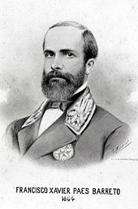 Francisco Xavier de  Paes Barreto
