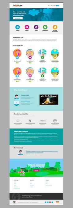 web design Rockalingua