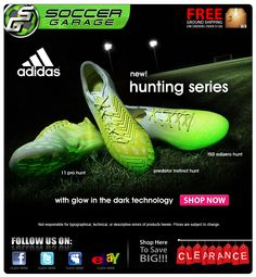 Glow in the dark soccer cleats!! Adidas Cleats 2d8a19aa7