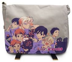 OURAN HIGHSCHOOL HOST CLUB BAAAAAAAAAAG!!! I have!! *-----* I love Ouran, I love Ouran, I love...