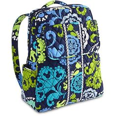 Your WDW Store - Disney Vera Bradley Bag - Where's Mickey - Blue Backpack