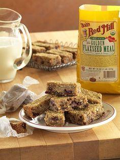 Whole grain breakfast muesli bars- easily made vegan and gluten free. @bobsredmill
