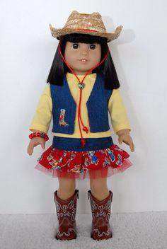 American+Girl+18+inch+Doll+Clothes+Western+by+TwirlyDollDesign,+$31.99