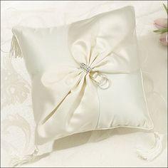 Ring Bearer Pillow - Royal Prestige - Ivory