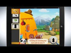 Lola ziet wat jij niet ziet. Woordenschat voor kinderen. De app is in het Nederlands!
