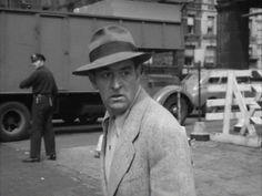 The Naked City (1948) Film Noir,  Ted de Corsia, Jules Dassin,