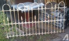 wrought iron fence victorian. ANTIQUE VICTORIAN FOUR PIECE WROUGHT IRON FENCE - For Sale In Big Indian,  New York Wrought Iron Fence Victorian