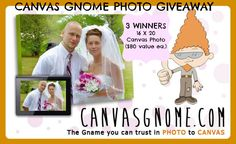 Canvas Gnome 16x20 Canvas Photo Giveaway - 3 Winners! (ends 4/28)