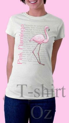 Flamingos - Pink Flamingo Tshirt by TshirtOz on Etsy, $21.99