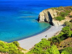 The amazing beaches of Karpathos island, Greece Greek Sea, Location Scout, Island 2, Greece Islands, Gods Creation, Beach Fun, Beaches, Places To Go, Beautiful Places