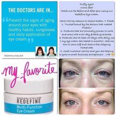 My favorite eye cream! Ksnekvik.myrandf.com