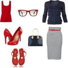 Sunday Night Church Outfit, created by danni-elizabeth on Polyvore