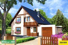 Lipińscy Domy Projekt: Ustronny I Energy Projects, Home Fashion, Cabin, Mansions, House Styles, Ua, Attic, Home Decor, Houses