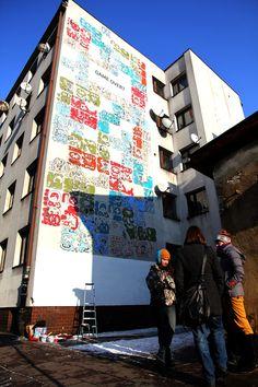 Mayamural, day 5, last. 2/18 Day 5, last. #maya #mural #cracow #2012 #graffiti #streetart Cracow, Poland.