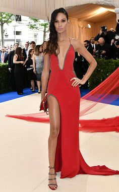 Joan Smalls from 2017 Met Gala: Red Carpet Arrivals