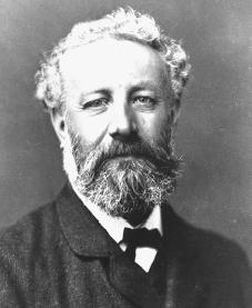 Fue un escritor, poeta y dramaturgo francés célebre por sus novelas de aventuras y por su profunda influencia en el género literario de la ciencia ficción.  Nacido en el seno de una familia burguesa en la ciudad portuaria de Nantes, Verne recibió formación para continuar los pasos de su padre como abogado, pero muy joven decidió abandonar ese camino para dedicarse a escribir.