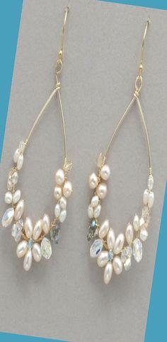 Bead Earrings, Bridal Earrings, Wedding Jewelry, Diy Wedding Earrings, Onyx Necklace, Silver Earrings, Pendant Necklace, Wire Wrapped Jewelry, Beaded Jewelry