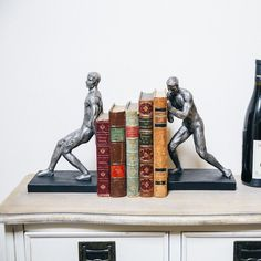 Fancy - Strong Man Bookends