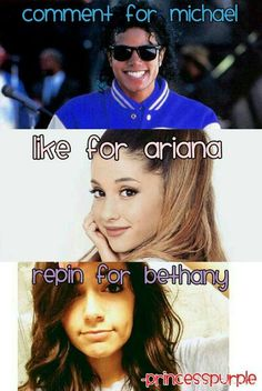 Lol I like ari 10 times more than Michael or Beth but I wanna see what you guys think!;)