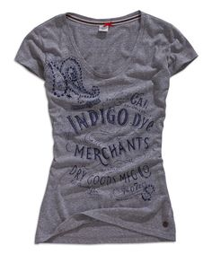 Look at this Gray Melange 'Indigo' V-Neck Tee on #zulily today!