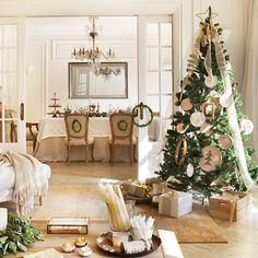 Haz que tu casa brille con una Navidad de oro