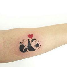 Tatuagens de Panda para se inspirar