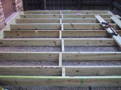 Ground level deck?