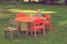 Playful furniture for playful kids by Kinkeliane