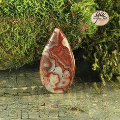 EA03534# Natural Designed Agate CAB genuine Crazy Lace Agate Cabochon
