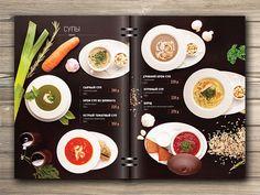 Menu for restaurant on Behance