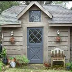 Traditonal potting shed
