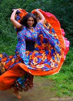 Patrina Sharkozi Hungarian Gypsy, Dancer & Actress. as an English Gypsy girl of the XIX century