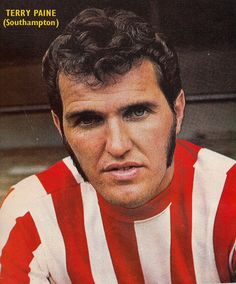 Terry Paine (Southampton)  Terry made over 800 appearances ( a club record ) in 18 years for the club. Terry was a member of England's World Cup  winning squad in 1966, but only the 11 men on the pitch received medals after the 4-2 win over West Germany. In 2009 Terry received his winners medal after an FA  led campaign to persuade FIFA to award medals to all members of the winners' squad.