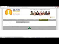Watch this helpful video that walks you through the process of applying for funding via Colorado Shines!