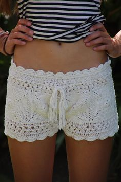 Crochet beach short