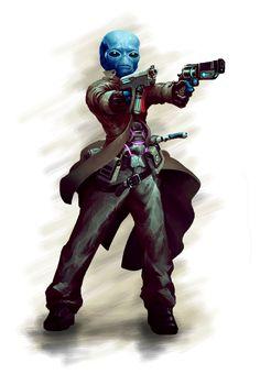 Star Wars Droids, Star Wars Rpg, Star Wars Clone Wars, Star Wars Characters Pictures, Sci Fi Characters, Character Concept, Character Art, Character Design, Star Wars Species