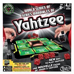 Have a family game night with World Series Yahtzee Family Game Night, Family Games, Yahtzee Game, Canada Day Long Weekend, Game Night Parties, World Series, News Games, Mom Blogs