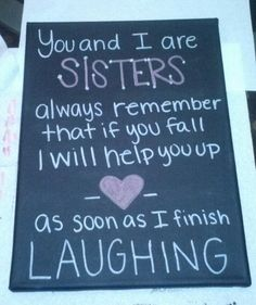Sister gift diy
