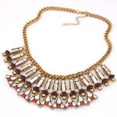 RKL6980 - Aksesoris Kalung Gemstone Collar