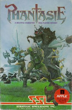 Phantasie, by SSI. First CRPG I ever owned. Commodore 64