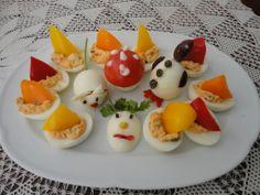 Αβγά βραστά για παιδικά γενέθλια  http://magdax.blogspot.gr/