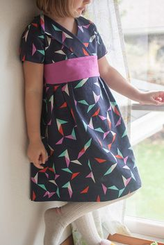 library dress in tangrams | Flickr - Photo Sharing!