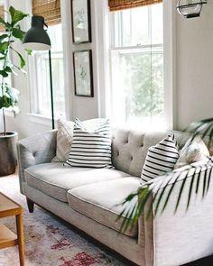 Een woonkamer met vintage invloeden - you like? #vintage #woonkamer