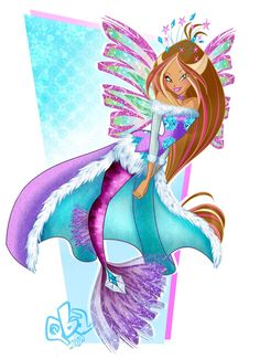 Mermaid Images, Mermaid Art, Warrior Names, Flora Winx, Colorful Wallpaper, Winx Club, Mythical Creatures, Online Art Gallery, Steven Universe